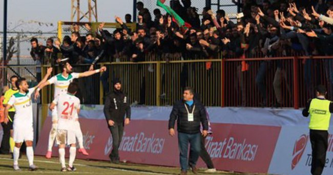 Amed taraftarı Bursaspor maçına alınmayacak