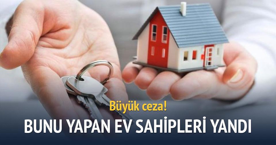 'Bekara ev yok' diyene büyük ceza