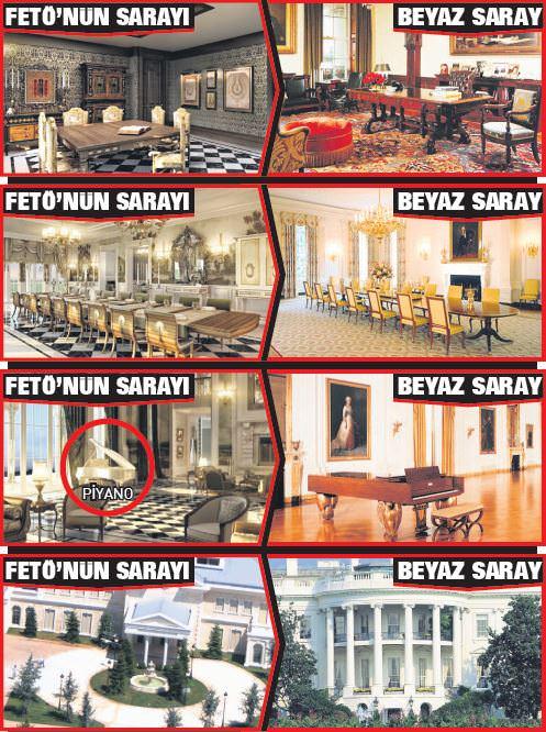 İşte FETÖ'nün Beyaz Saray'ı - Son Dakika Haberler