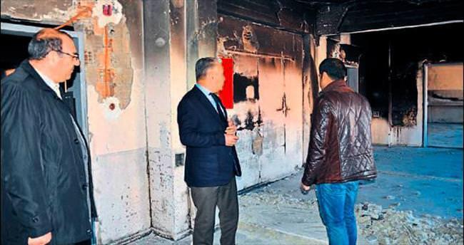 Teröristlerin verdiği zarar 1 milyon lira