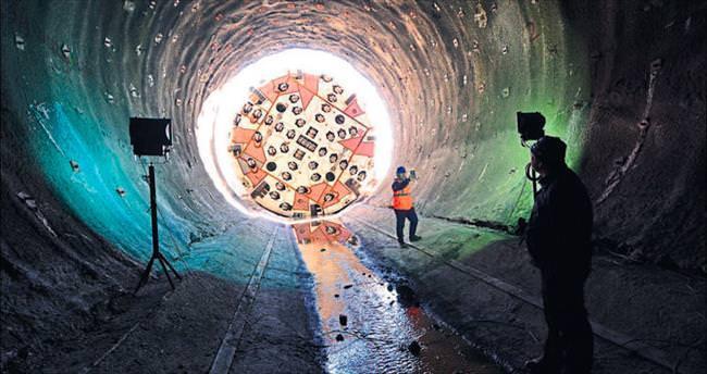 TCDD'nin en uzun tüneli