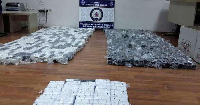 Bitlis'te kaçakçılık operasyonu