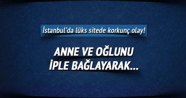İstanbul'da lüks sitede korkunç olay