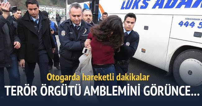 Harem Otogarı'nda 'terörist' paniği!
