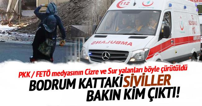 PKK / FETÖ medyasının Cizre ve Sur yalanları böyle çürütüldü