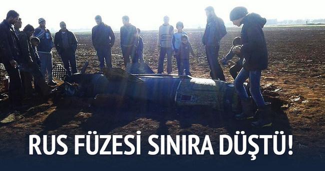 Rusya'nın balistik füzesi Azez'e düştü