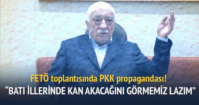 FETÖ toplantısında PKK propagandası