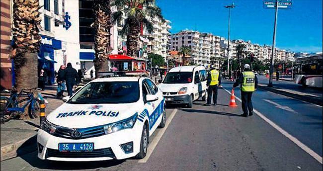 Plaka kurnazlarına 328 bin lira ceza