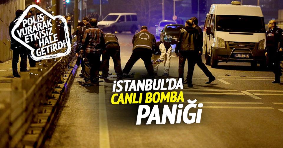 İstanbul'da canlı bomba paniği!