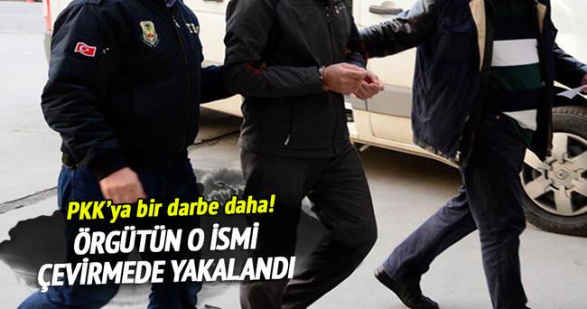 PKK'nın bölge kuryesi yakalandı