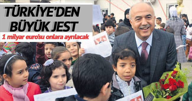 Türkiye'den büyük jest