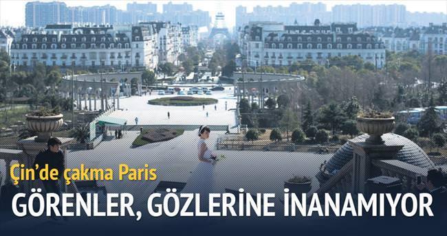 Çin'de çakma Paris