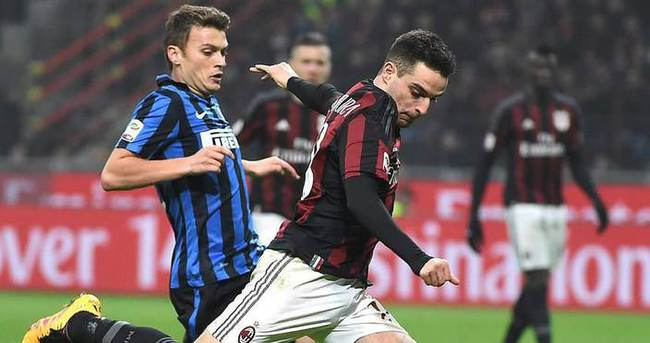 Milan derbide Inter'i dağıttı