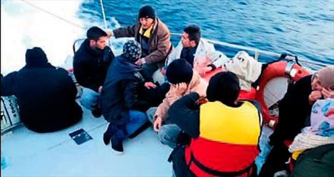Suriyeli 17 kişi Meis'e gidemedi