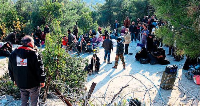 Suriye sınırı yine hareketli