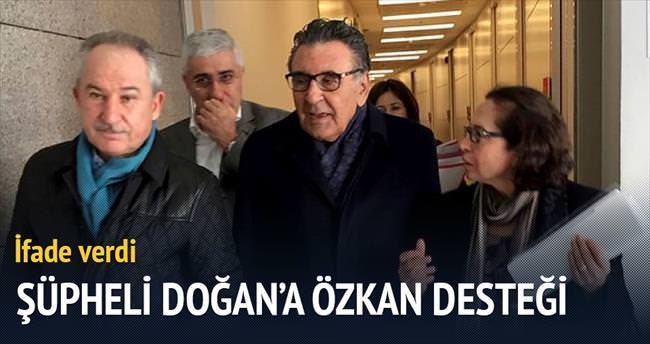 Şüpheli Doğan'a Özkan'dan moral