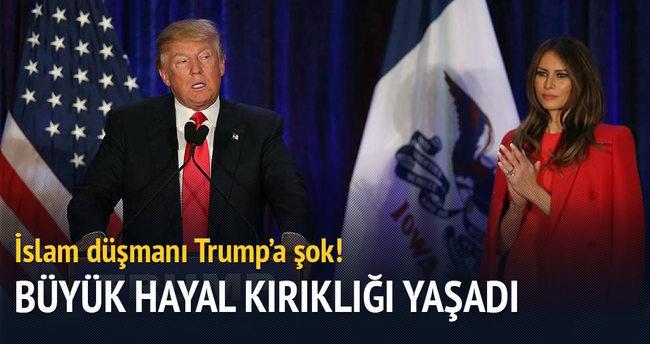 Trump'a ön seçim şoku