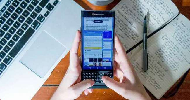 BlackBerry'den Android itirafı