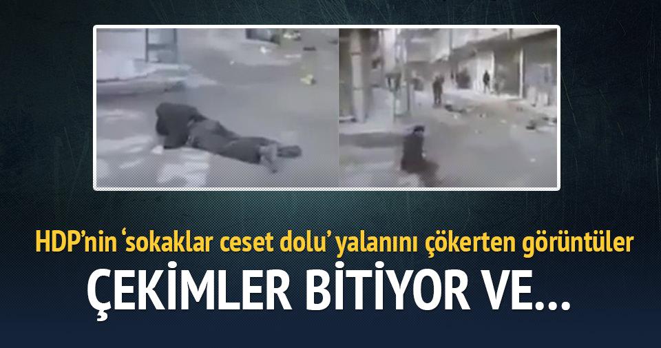 HDP'lilerin 'sokaklar ceset dolu' propagandası çöktü
