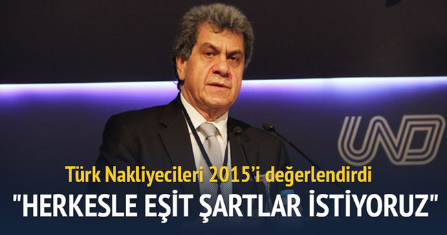 Türk Nakliyecileri 2015'i değerlendirdi