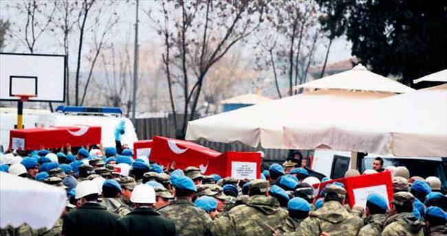 Türkiye 5 kahraman şehidini uğurladı