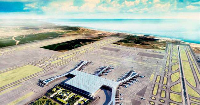 Yeni havalimanına 'Gardaş' indi