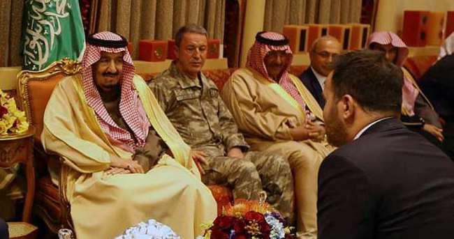 Orgeneral Akar'ın Suudi Arabistan ziyareti