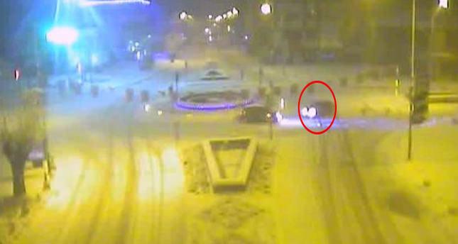 Alkollü driftçi polise yakalandı