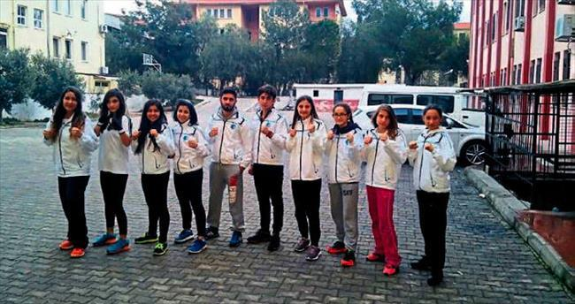 Fethiye Belediyesi madalyaları topladı