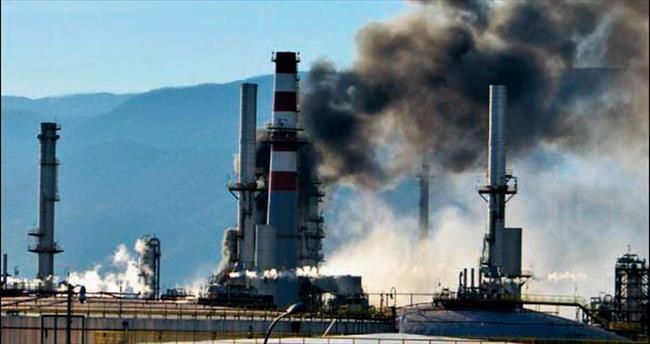 Tüpraş'ta yangın paniği
