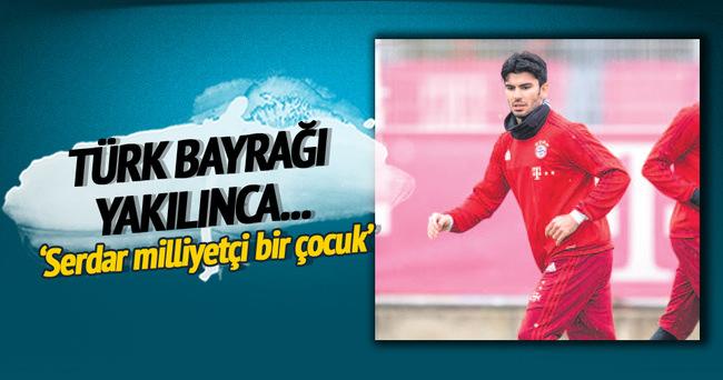 Türk bayrağı yakılınca...
