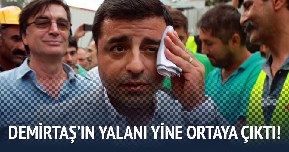Demirtaş'ın HDP'nin PKK ile organik bir bağı yoktur yalanı