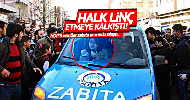 HDP'li vekillere Diyarbakır'da sert tepki!