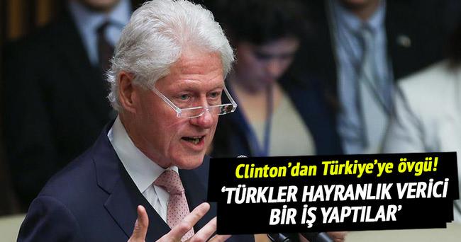 'Türkler hayranlık verici bir iş yaptılar'