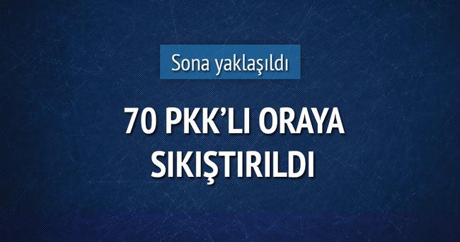 70 PKK'lı Cizre'de iki bölgede sıkıştı