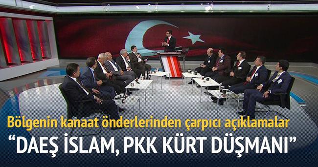 DAEŞ İslam, PKK Kürt düşmanı