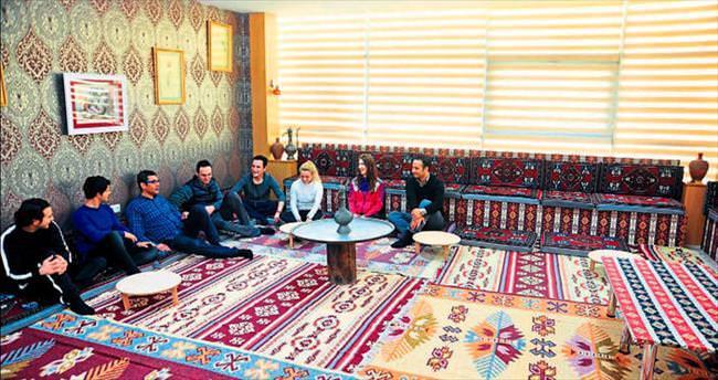 Kepez'de gençler de mutlu