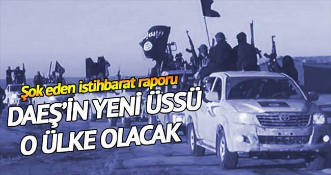 DAEŞ'in kuvveti Libya'ya kayıyor