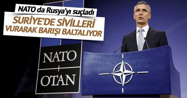 NATO da Rusya'yı suçladı