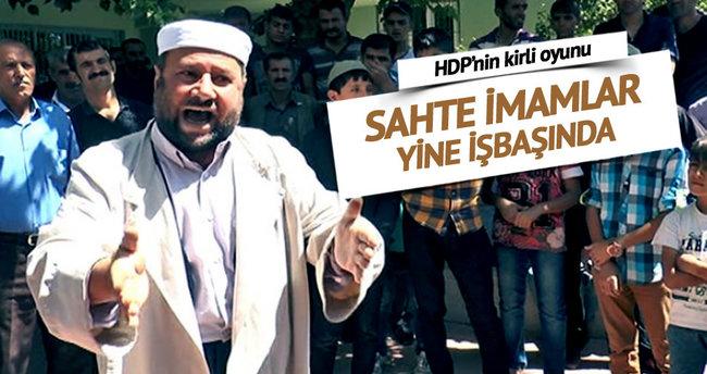 HDP'nin sahte imamları camide yandaş topluyor