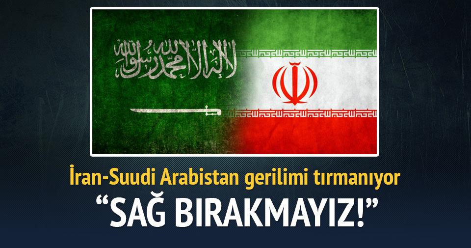 İran Suudi Arabistan'ı tehdit etti