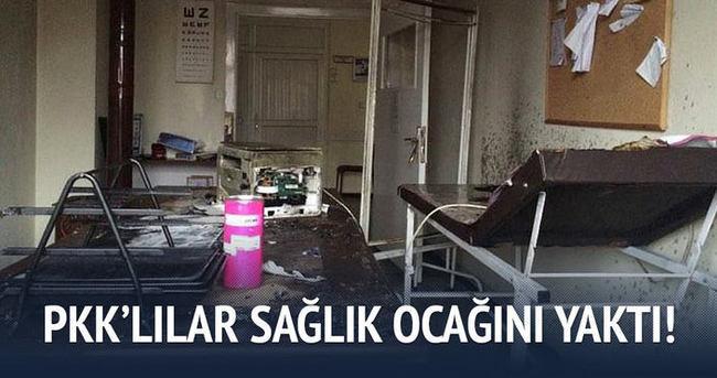 PKK'lılar Aile Sağlığı Merkezine saldırdı