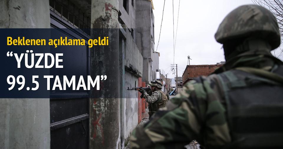 Efkan Ala: Cizre'de yüzde 99,5'i halledilmiş durumda
