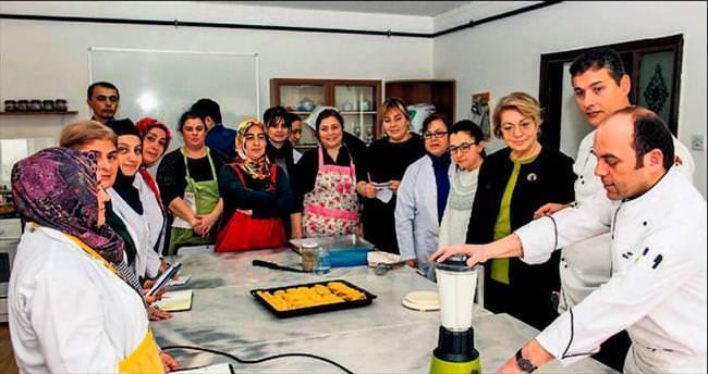 Osmanlı yemek sırları BELMEK mutfağında