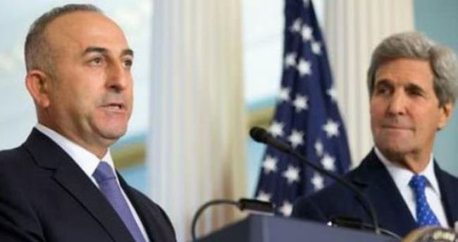 Çavuşoğlu, Kerry ile Suriye'yi konuştu