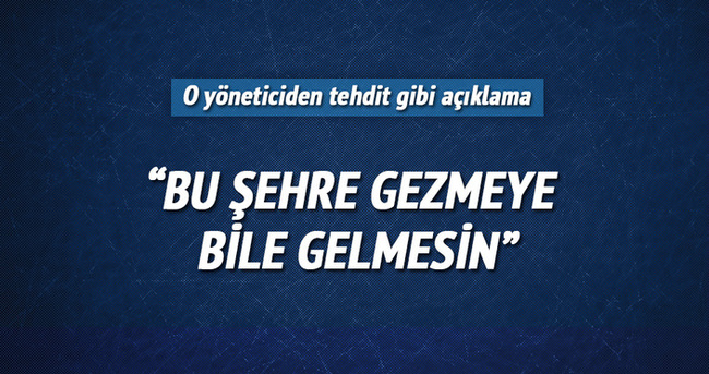 Bursaspor'dan Hüseyin Göçek'e büyük tepki