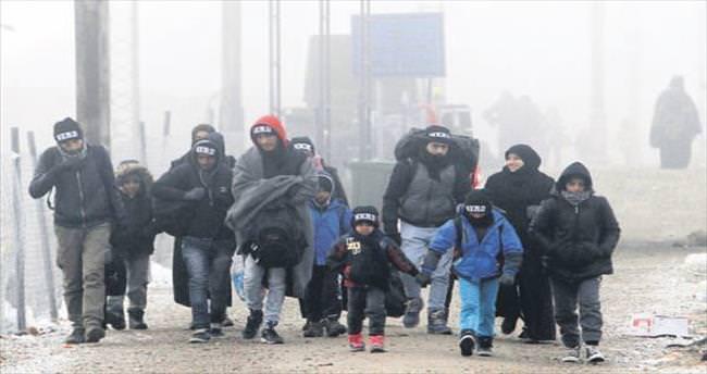 Dört sığınmacı donarak öldü
