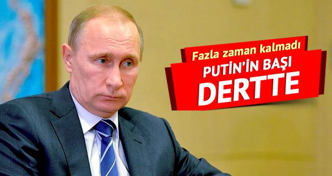Putin'in başı dertte