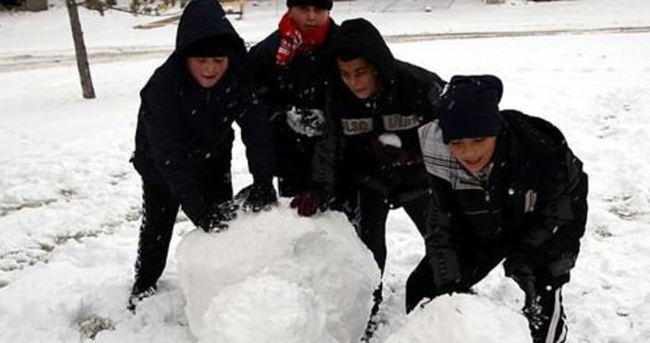 11 ilde kar nedeniyle okullar tatil