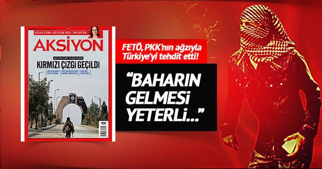 FETÖ Suriye'den Türkiye'yi tehdit etti!